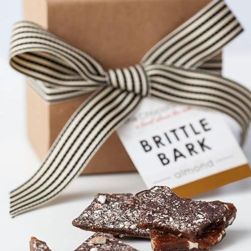 brittle bark almond